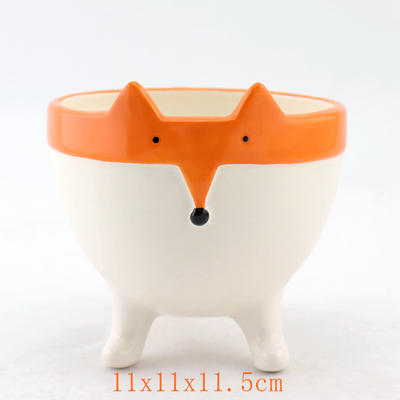 Fox Flower Pot With Face And Feet Manufacturer